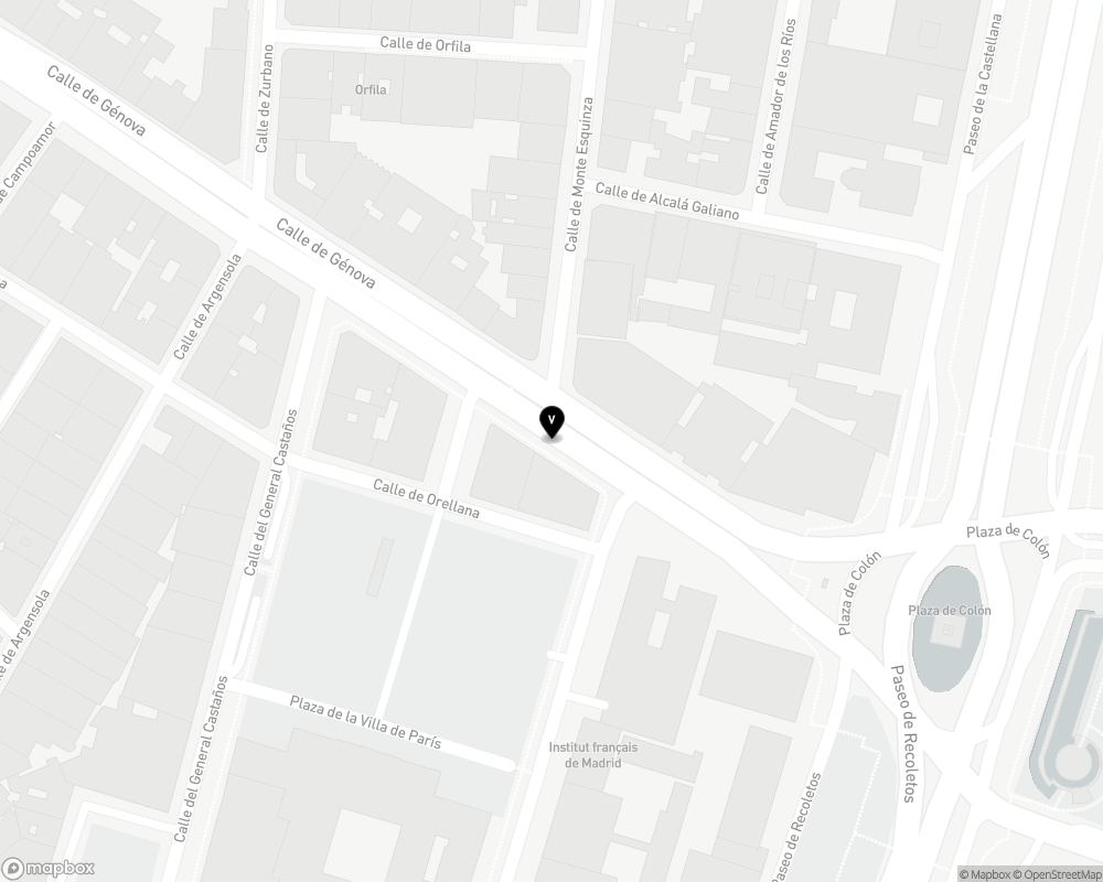 Yandex Map of -3.693330,40.426239