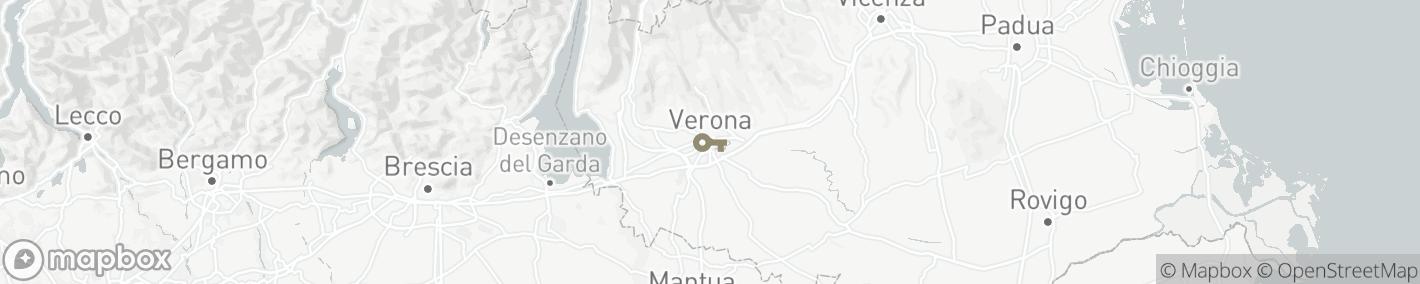 Ligging Verona