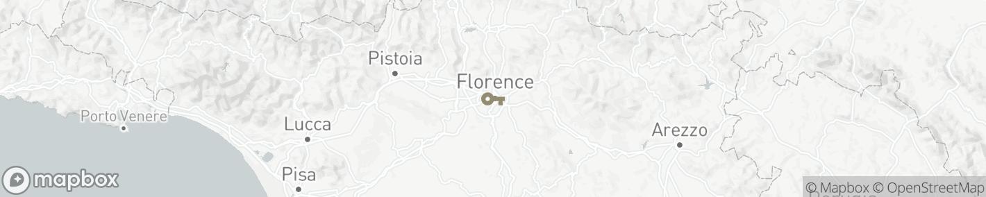 Ligging Firenze