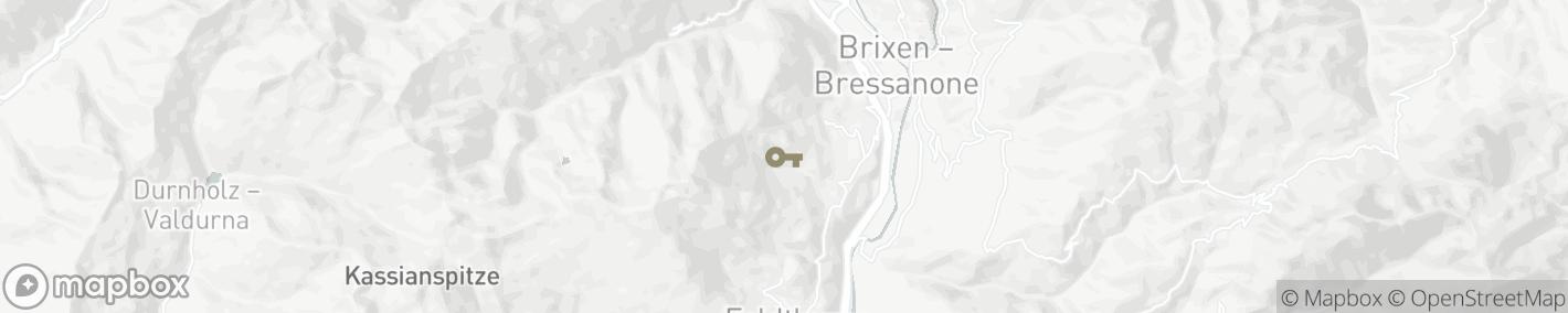 Ligging Brixen-Bressanone