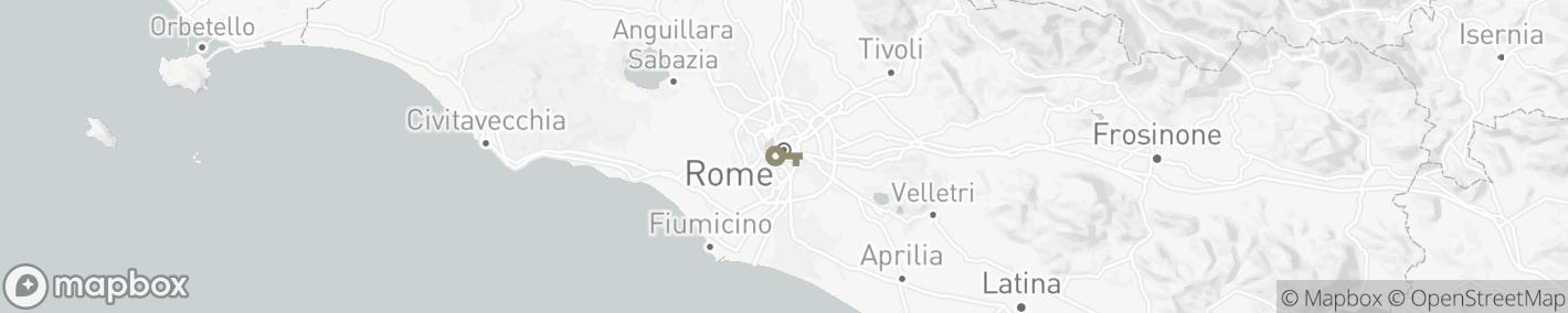 Ligging Rome