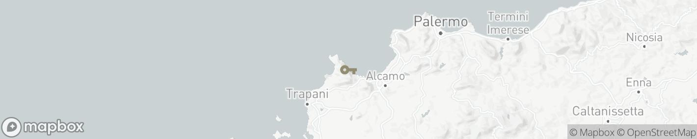 Ligging Trapani