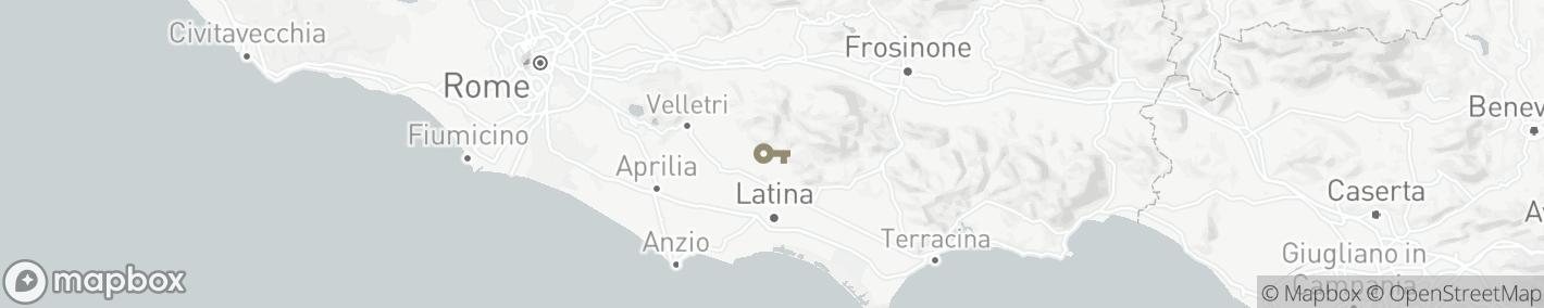 Ligging Cisterna di Latina