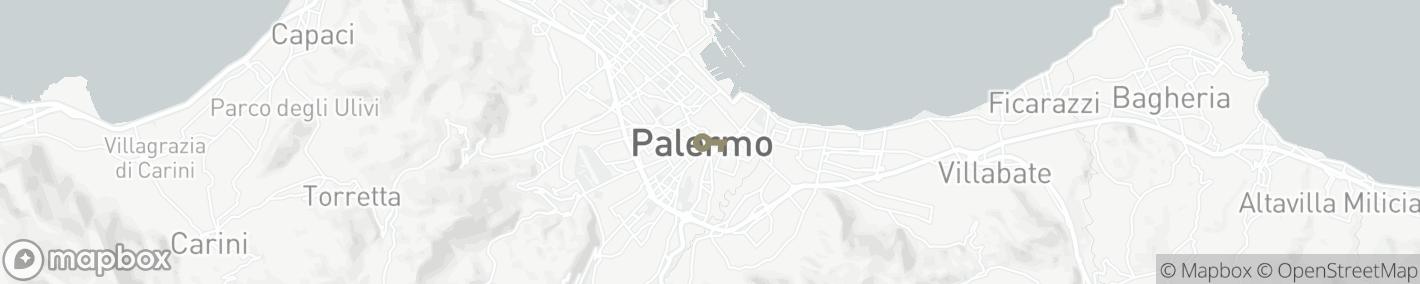 Ligging Palermo