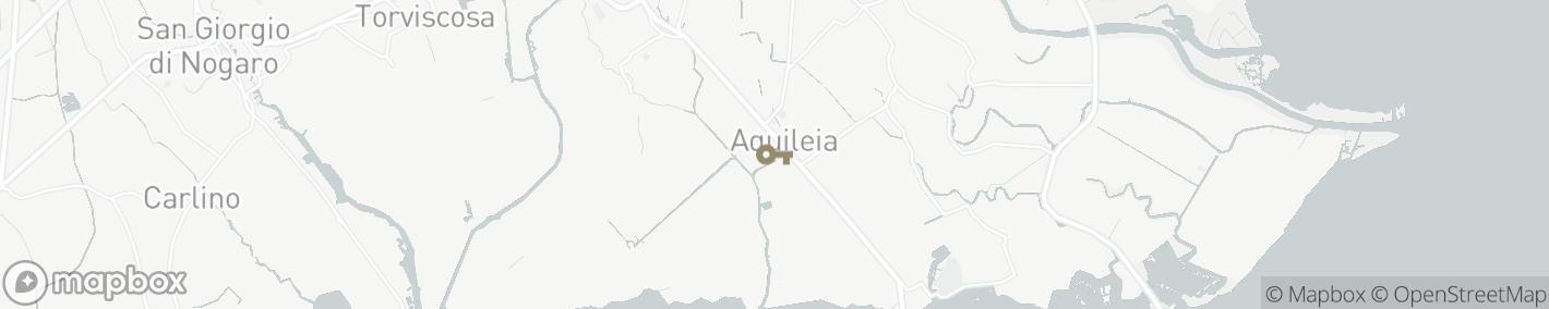 Ligging Aquileia
