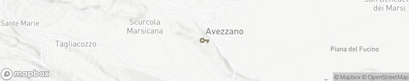 Ligging Avezzano