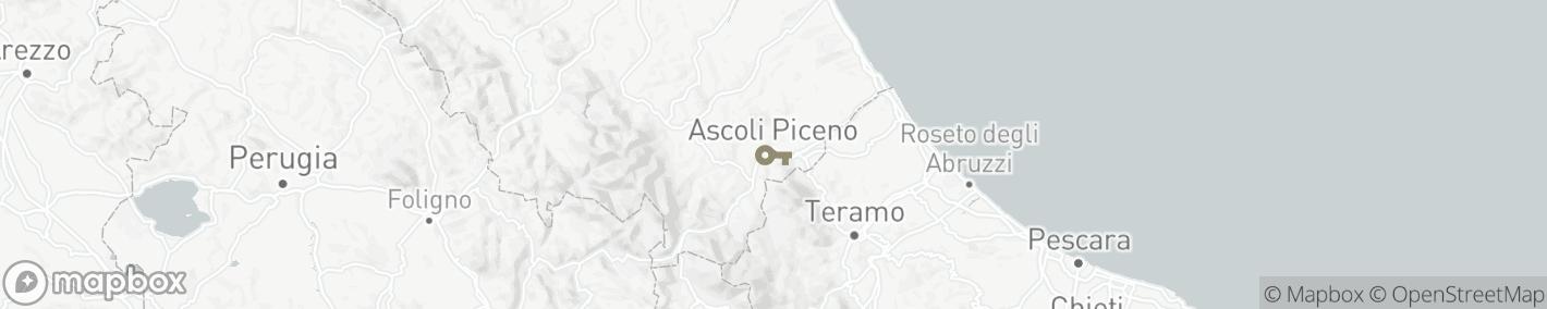 Ligging Ascoli Piceno