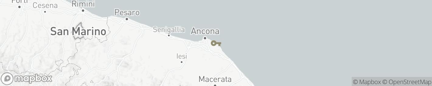 Ligging Ancona