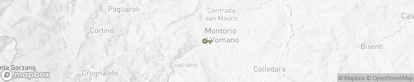 Ligging 64046 Montorio al Vomano