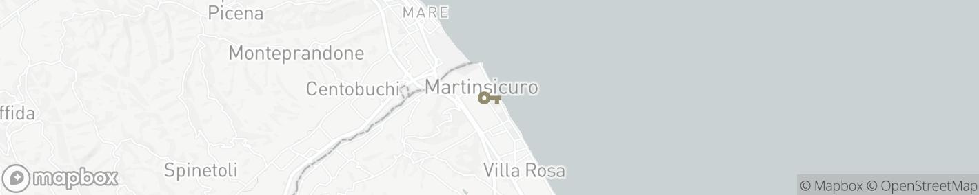 Ligging Martinsicuro
