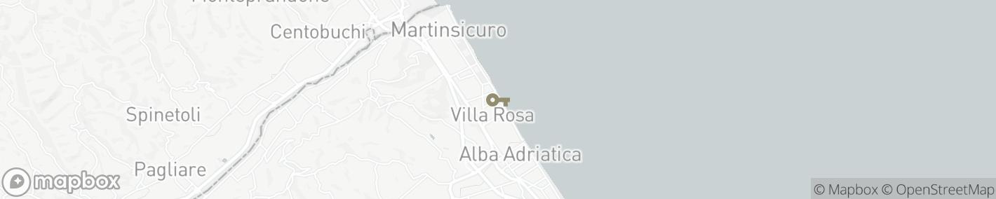 Ligging Villa Rosa di Martinsicuro