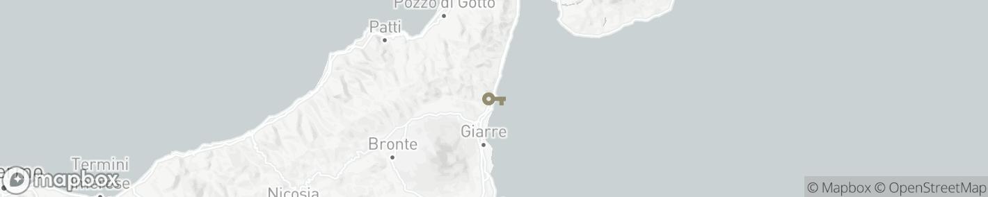 Ligging Taormina