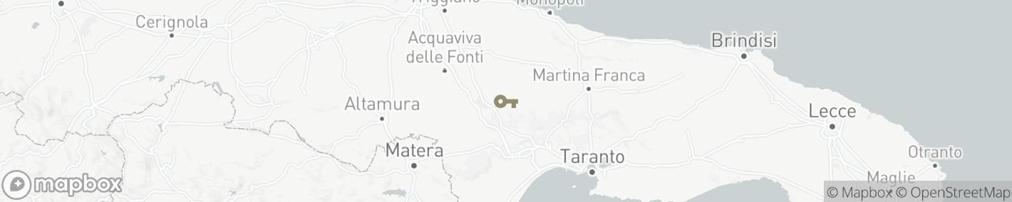 Ligging Noci, 70015 (Bari)