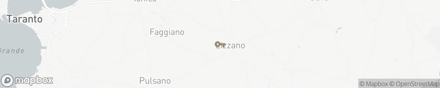 Ligging Lizzano