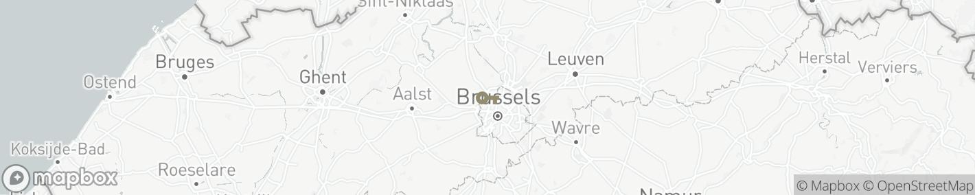 Ligging Brussel