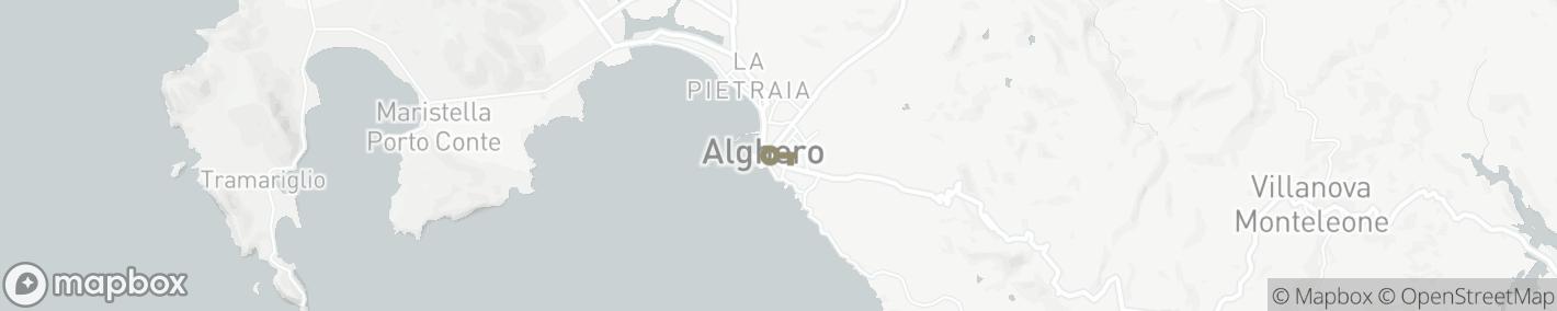 Ligging  Alghero