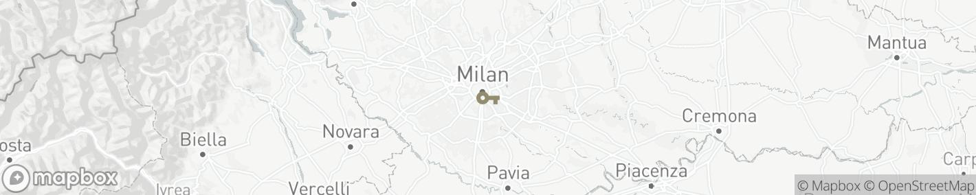 Ligging Milaan