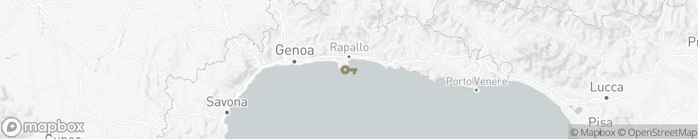 Ligging Santa Margherita Ligure