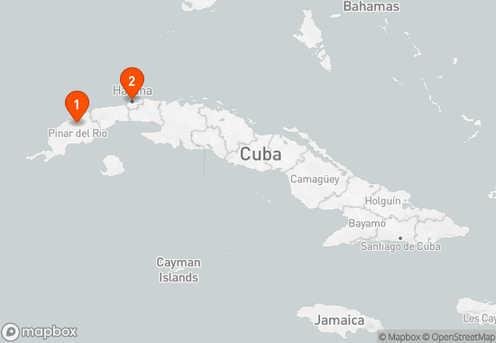 Cuba 6 Day History and Nature Itinerary