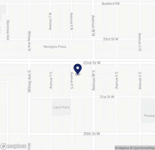 Map of 2-2305 22nd St W in Saskatoon