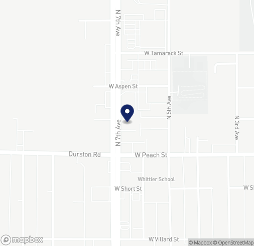 Map of 654 N 7th Ave in Bozeman