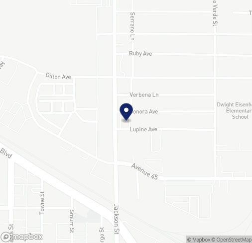 Map of 44680 Jackson St in Indio