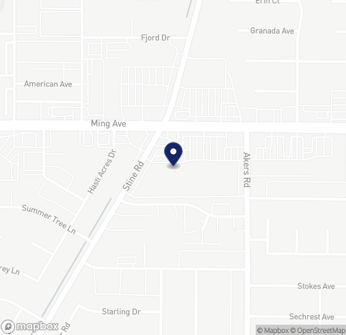 Map of 4127 Ming Ave in Bakersfield
