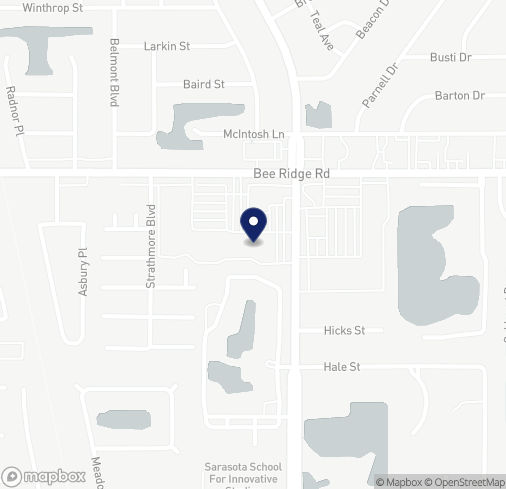 Map of 4294 Bee Ridge Rd in Sarasota