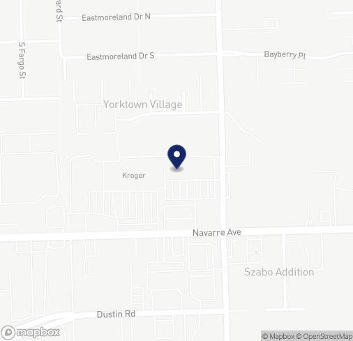 Map of 3361 Navarre Ave in Oregon