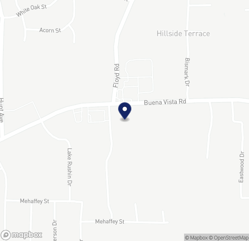 Map of 4908 Buena Vista Rd in Columbus