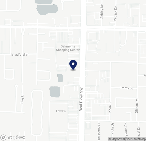 Map of 796 Beal Pkwy NW in Fort Walton Beach