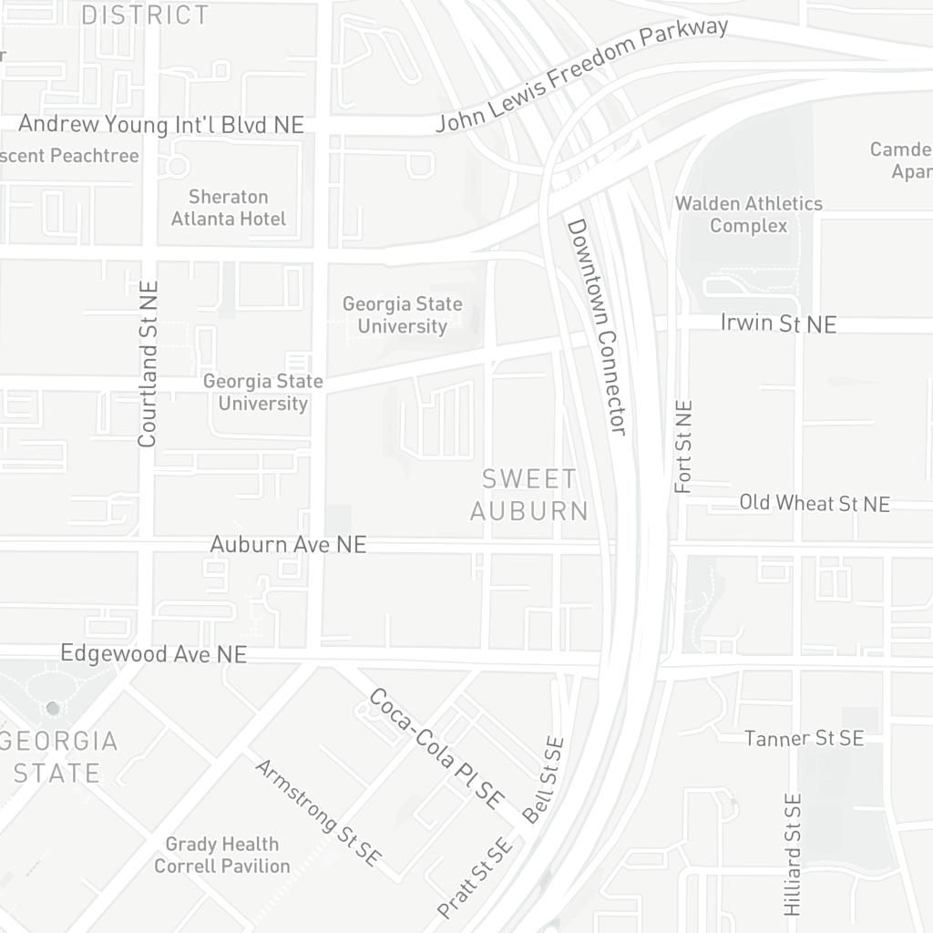 Americasmart Atlanta Map.Americasmart Atlanta Centennial Park District Atlanta Ga