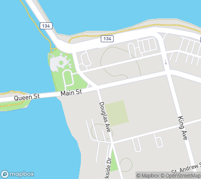 Mapbox © OpenStreetMap: 100 Main St Office 8, Bathurst NB
