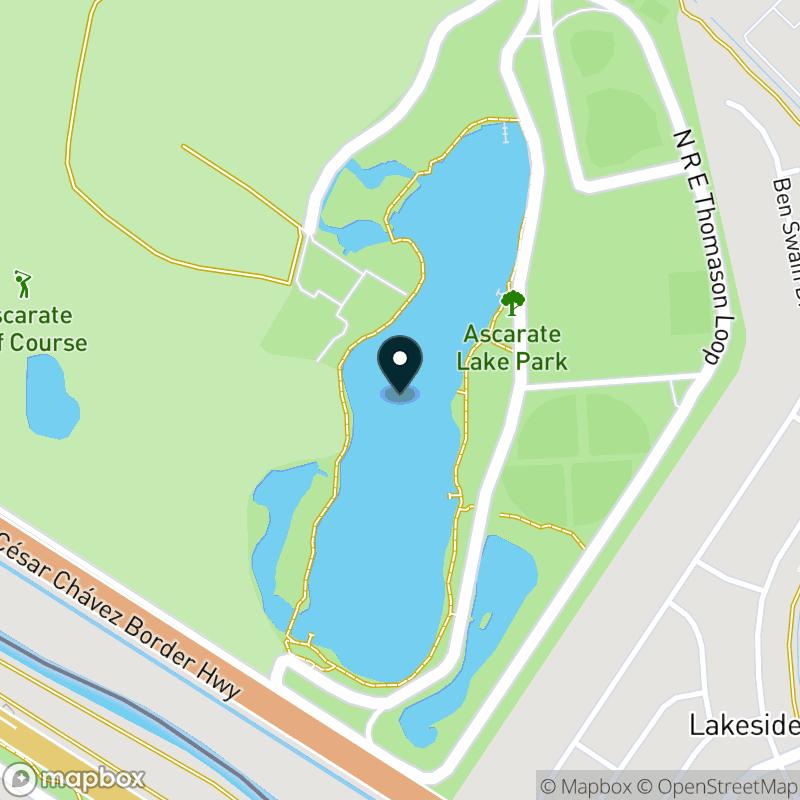 Ascarate Lake Map