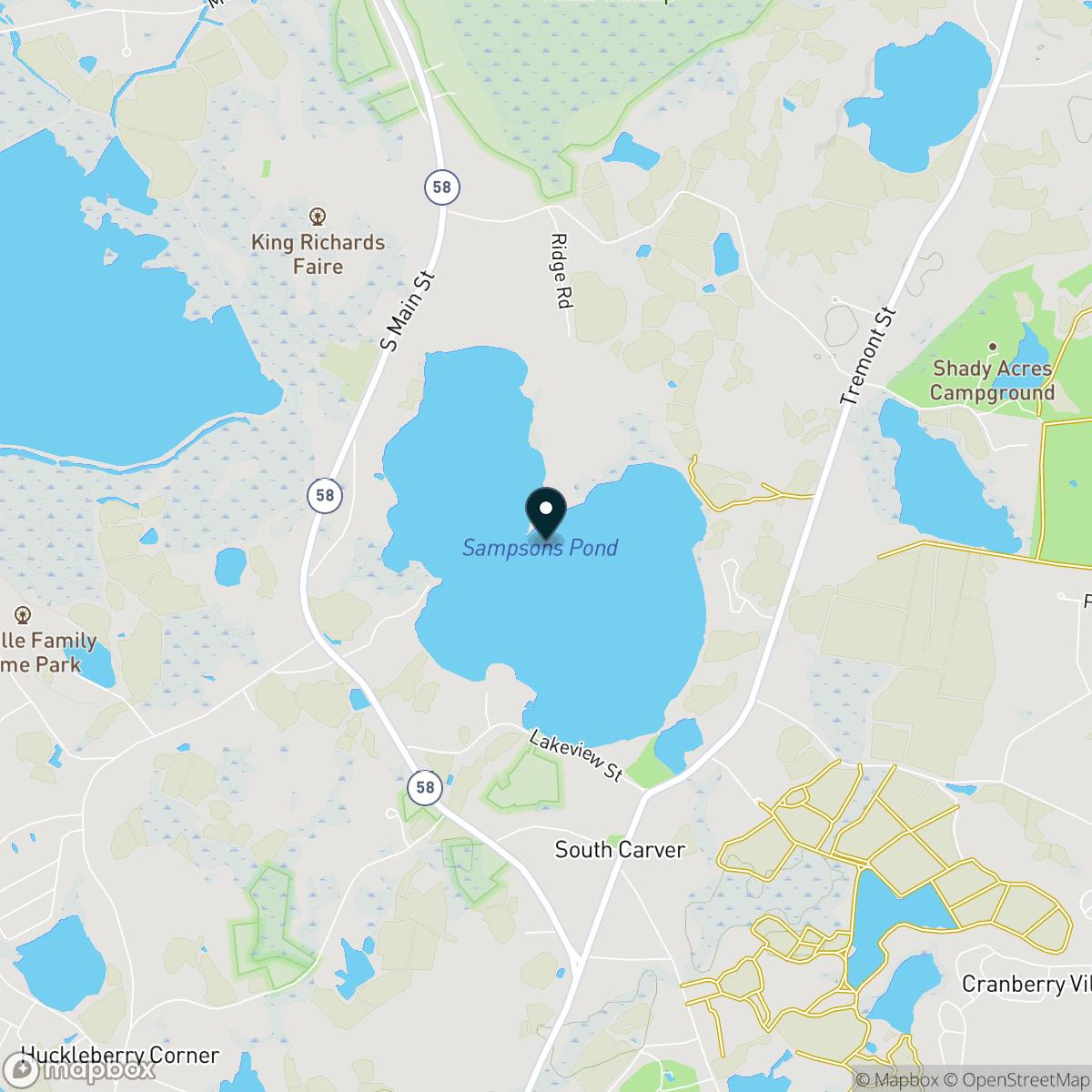 Sampson Pond Map