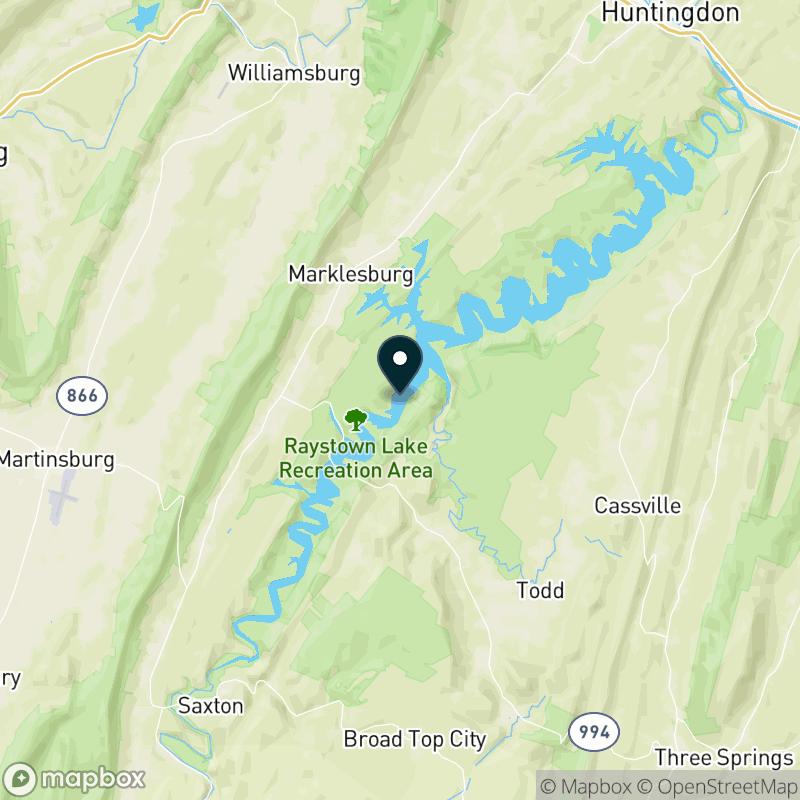 Raystown Lake Map