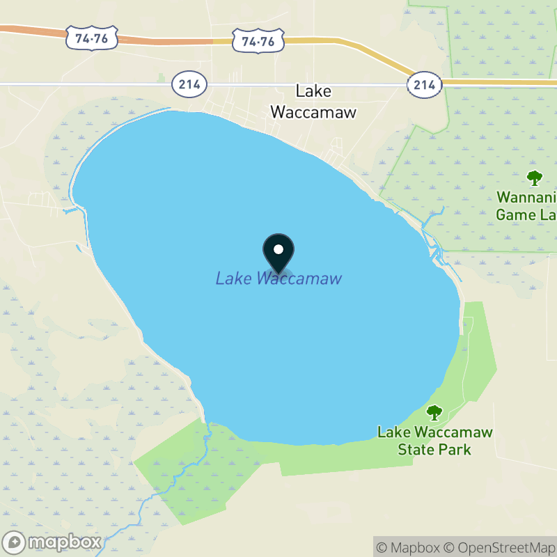 Lake Waccamaw Map