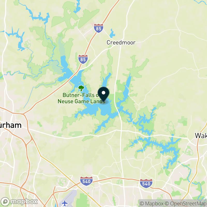 Brinkley Lake Map