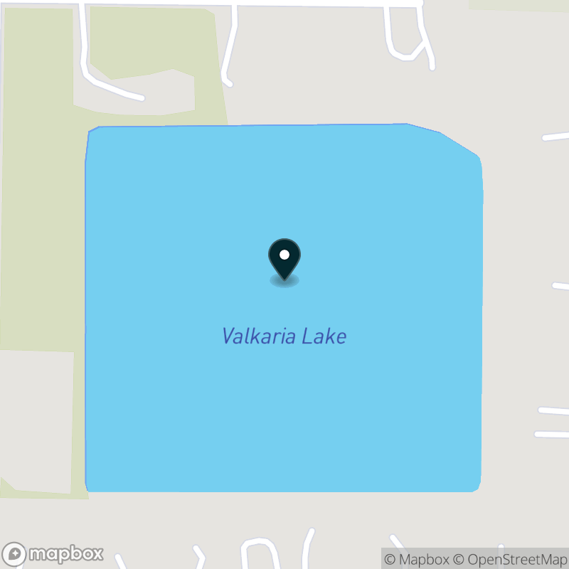 Valkaria Lake Map