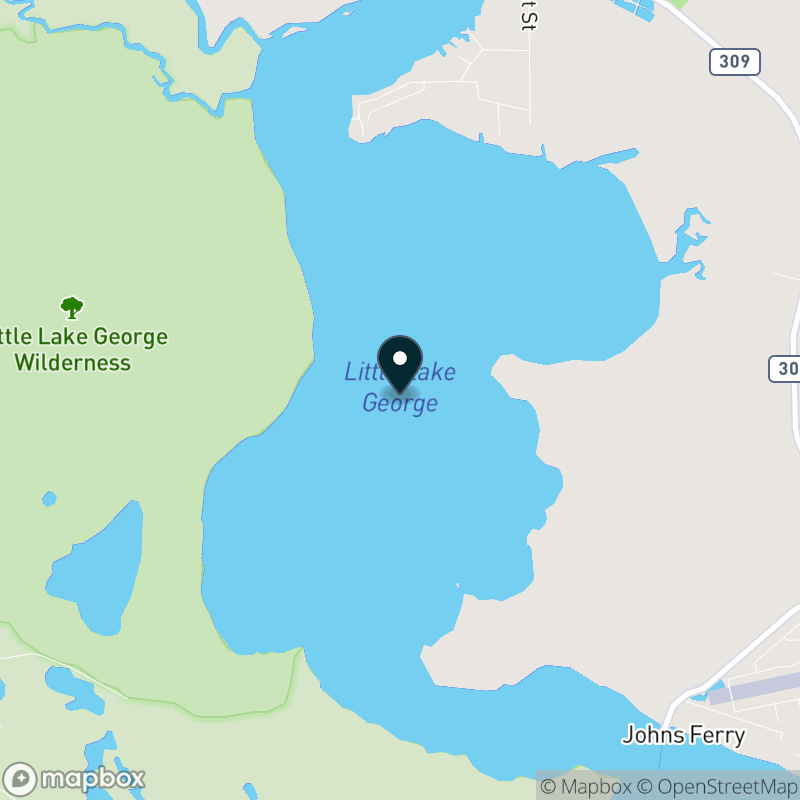 Little Lake George Map