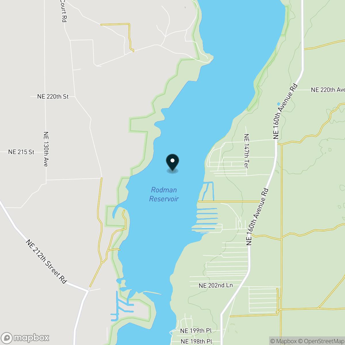 Lake Ocklawaha Map
