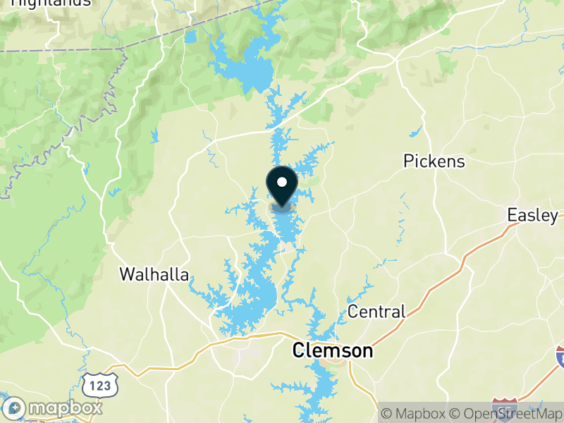 Lake Keowee Map