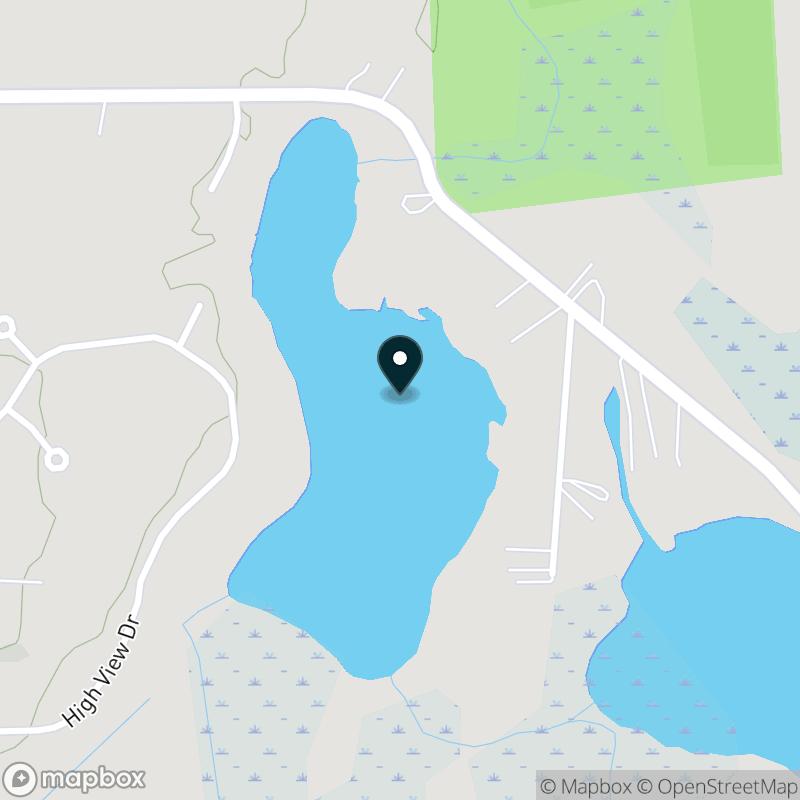 Fish Lake (MI) Map