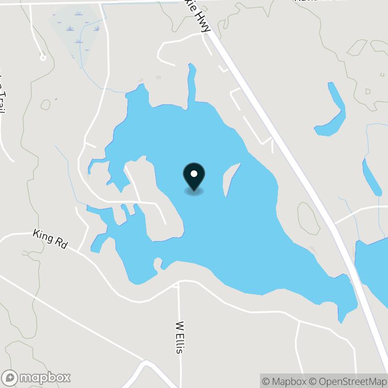Dixie Lake (MI) Map