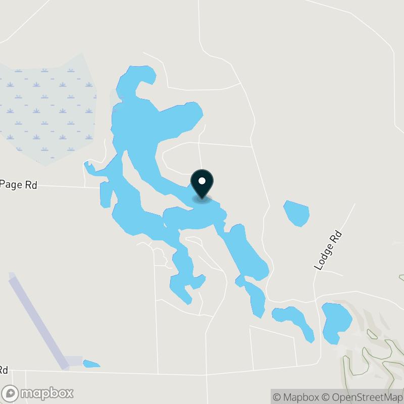 Twin Lakes (MI) Map