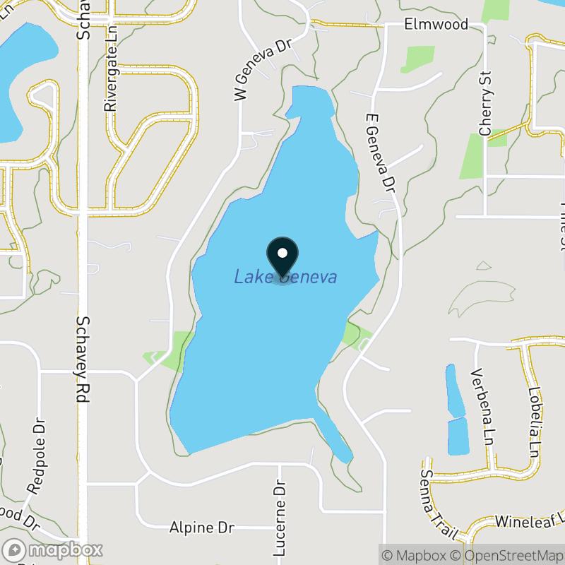Lake Geneva (MI) Map