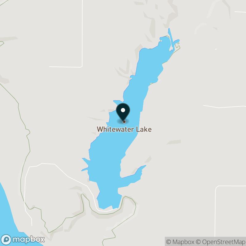 Whitewater Lake Map