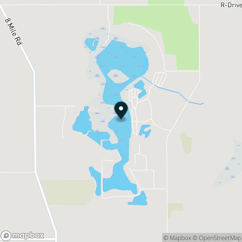 Turtle Lake (MI) Map