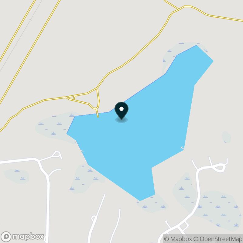Blue Lake (MI) Map