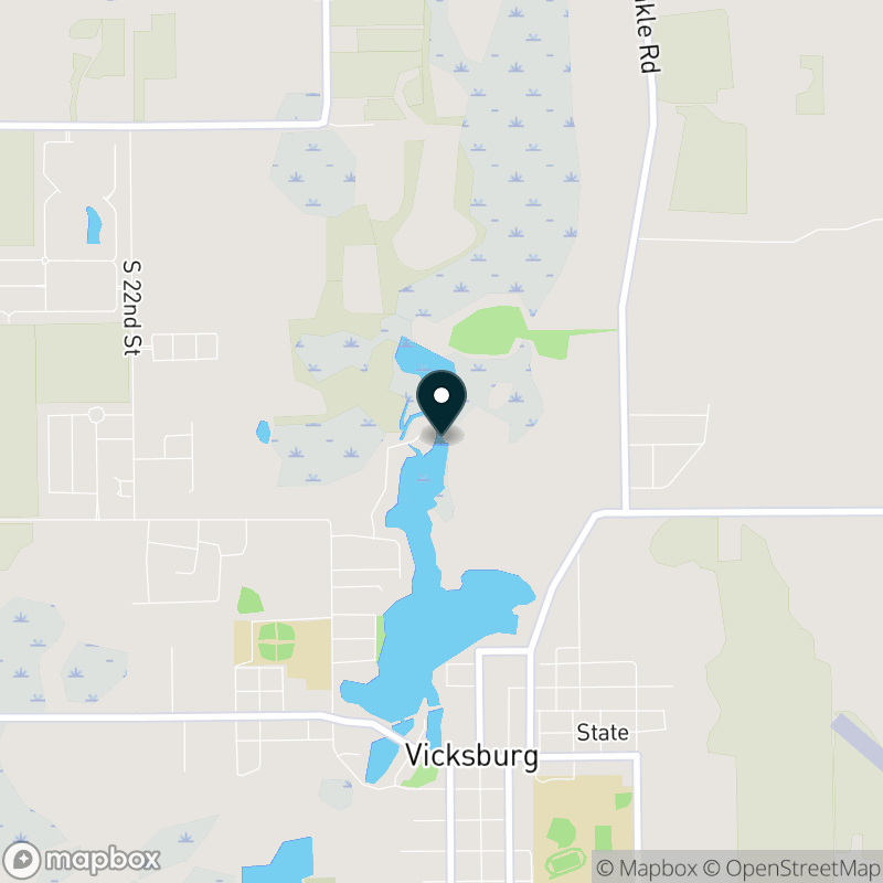 Sunset Lake (MI) Map